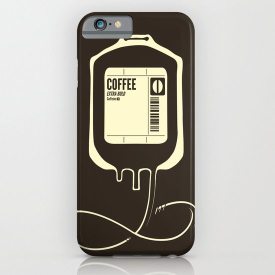 Coffee Transfusion iPhone & iPod Case