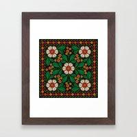 CLUSIA MARACATU Framed Art Print