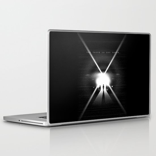 The truth is out there Laptop & iPad Skin