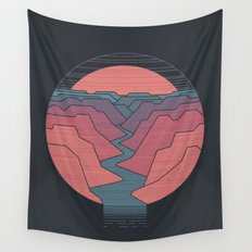 Canyon River Wall Tapestry