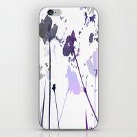 Field of Flowers Indigo iPhone & iPod Skin