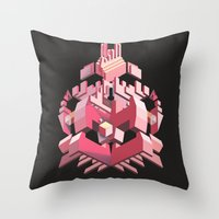 My Heart Is Made Of Lase… Throw Pillow