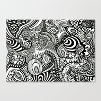 Loopy Canvas Print