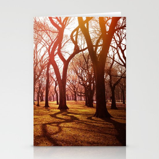 'CENTRAL PARK TANGLE' Stationery Card