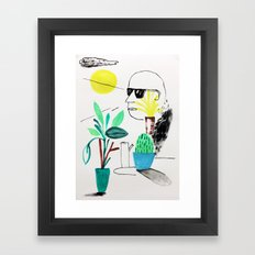 Take It Easy Framed Art Print