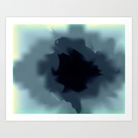 Unfurled Ink Art Print