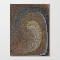 Amber Wave Canvas Print