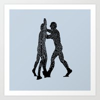 Molecule Man Art Print