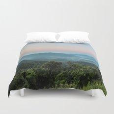 The Morning Mists Duvet Cover