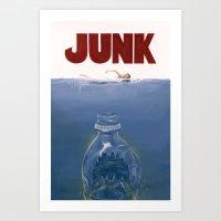 JUNK Art Print
