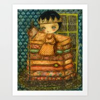 Sleepless Nights With Th… Art Print