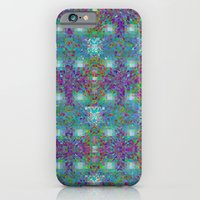 Merry Prisma rainbow Christmas iPhone 6 Slim Case