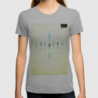 Fence: Facebook Shapes & Statuses Womens Fitted Tee Athletic Grey SMALL