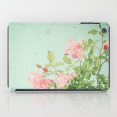 Pink Roses iPad Case