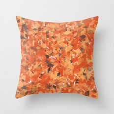 Chameleonic Panelscape  - Colours from Alice Rebecca Throw Pillow