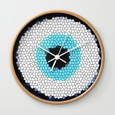 Blue eye Luck Wall Clock