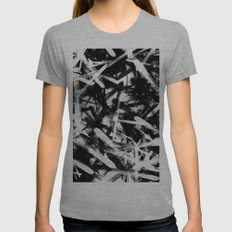 Tokio Womens Fitted Tee Athletic Grey SMALL
