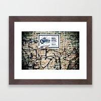 The Omys Framed Art Print