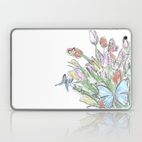 Watercolour, Flowers And… Laptop & iPad Skin