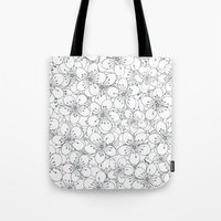 Cherry Blossom Blue - In… Tote Bag