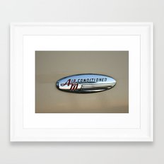 Air Conditioned Framed Art Print
