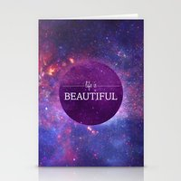 Life Is Beautiful Stationery Cards