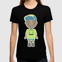 Fresh Prince Womens Fitted Tee Black SMALL