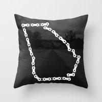 Ride Statewide - Georgia Throw Pillow