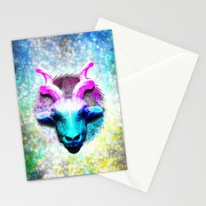 cyan Thomson's Gazelle Africa Stationery Cards