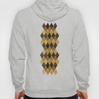 Wooden big diamond Hoody