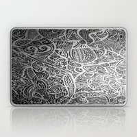 Silver Vivid  Laptop & iPad Skin