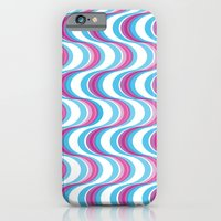 Purple Waves iPhone 6 Slim Case