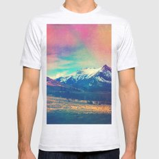 Grand Illusion. Mens Fitted Tee Ash Grey SMALL