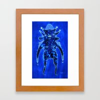 inner galaxy Framed Art Print
