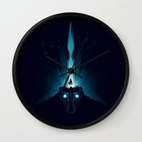 Wander and the Colossus Wall Clock