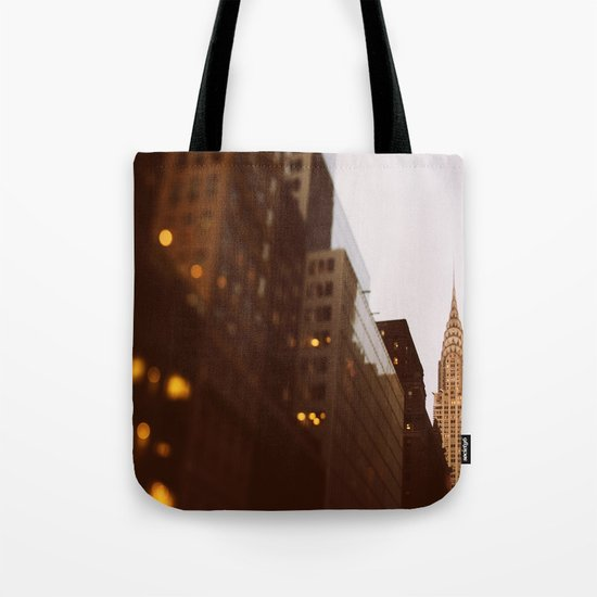 Bright Lights, Big City Tote Bag