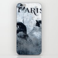 Paris Birds iPhone & iPod Skin