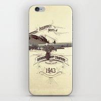 1943 Caza iPhone & iPod Skin