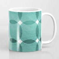 Overlapped Circle Pattern 6 Mug