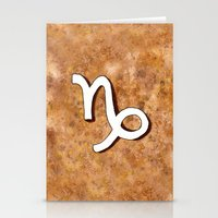 Zodiac Sign : Capricorn Stationery Cards