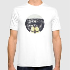 From Behind The Wheel - I White Mens Fitted Tee SMALL
