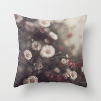 floral 1 Throw Pillow