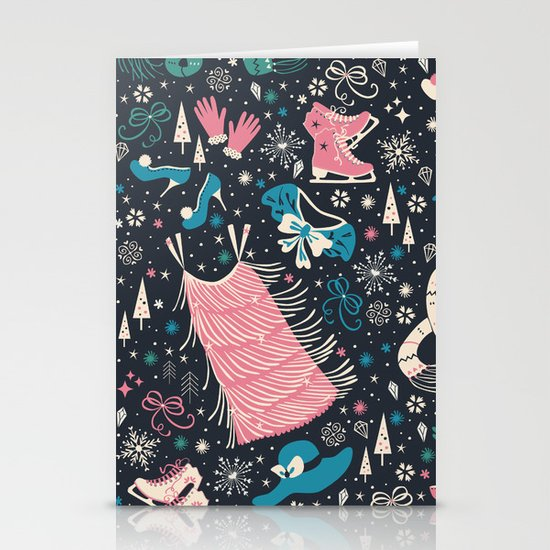 Frou Frou Stationery Card