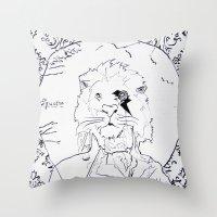 Richard Coeur Throw Pillow