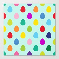 Mini Eggs Canvas Print