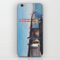 Golden Gate Bridge.  iPhone & iPod Skin