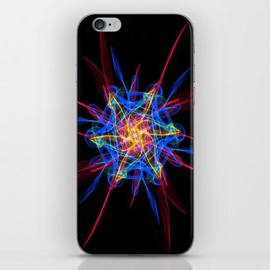 Silkweave / Neon Sigil 2 iPhone & iPod Skin