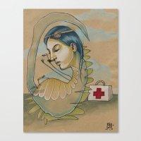 DR. DINO Canvas Print