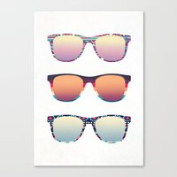 PUT YOUR GLASSES ON ...  Canvas Print