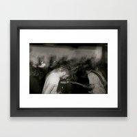 Them Vices Framed Art Print